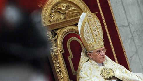 Paven – forløperen til den falske Profet!